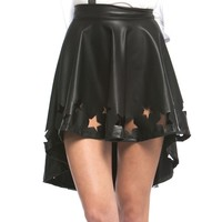 SHOOTING STARS LASER CUT SKIRT