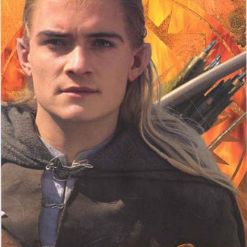Lord of the Rings Legolas Movie Poster 22x34