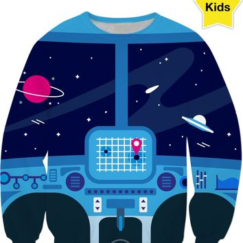 ROCS Spaceship Children's Sweatshirt