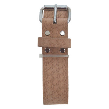 94051 - One and a Half Inch Wide Belt-Embossed Heavy Top Grain Leather