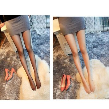 Women Elastic Tights Stockings Pearl Glitter Sexy Silk Stockings Pantyhose for Women Sheer Full Foot Tights Pantyhose Collant