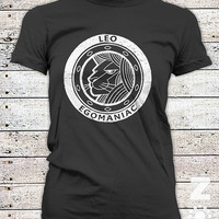 LEO / Zodiac / Astrology  / Dark Side / Ladies Graphic Tee Shirt