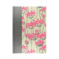Address Book Large Pink Queen Anne's Lace