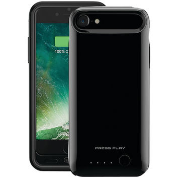 Press Play Iphone 7 Nero7 Battery Case (jet Black)
