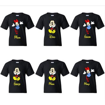 TurnTo Designs - Disneyland Mickey/Minnie  Mouse Family Trip Vacation Custom Shirts