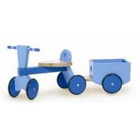 Trike & Trailer by Le Toy Van at Tiddley Widdley Toy & Book Store (Wooden Toys, Ride-on Toys, Kids Toys, Children's Toys)