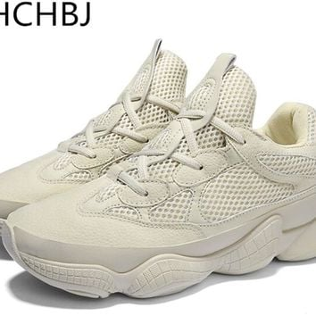 Vintage dad sneakers 2018 kanye west fashion mesh light breathable men casual shoes men sneakers zapatos hombre