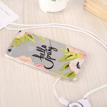 Original Summer Sling iPhone 5s 6 6s Plus creative case Cover Gift-111