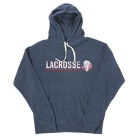 Lacrosse - An American Tradition Navy Triblend Hoodie