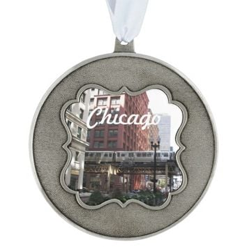 Chicago Photo Holiday Ornament