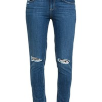 Quinley Distressed Skinny Jeans - PAIGE DENIM
