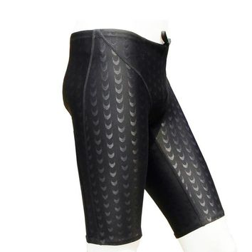 Shark Skin Swim Competition Briefs Men Sport Trunks Sharkskin Surf Board Shorts Trunks Swim Briefs for men