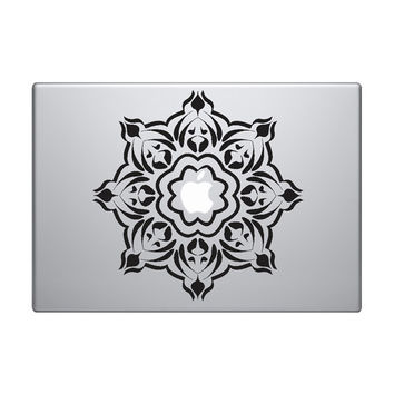"Abstract Pattern Vinyl Decal / Sticker to fit Macbook Pro 13"" 15"" 17"" - Custom sizes available - grid tentacles raster precision die cut"