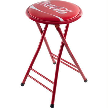 Coca-Cola Dynamic Ribbon Device Folding Stool