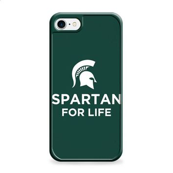 Michigan State Spartan For Life iPhone 6 | iPhone 6S case