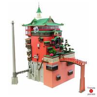 Studio Ghibli Spirited Away Paper Craft MK07-10 1/150 Abura-ya New Japan