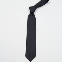 Engineered Garments Black Cotton Sateen Neck Tie