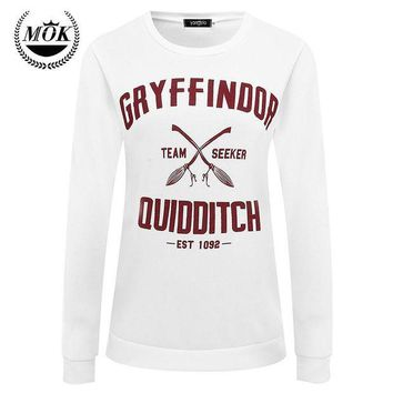 ICIKHY9 2016 Harajuku Gryffindor Quidditch Harry Potter Shirt Sweatshirt  Shirt Plus Size S M L XL