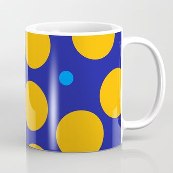 yellow dots Coffee Mug by netzauge