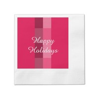 Holiday Red Paper Napkins by Janz