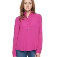 Heartbreaker Embroidered Top by Juicy Couture,