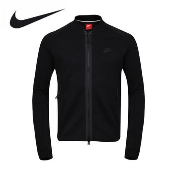 Nike Official Men's Spring Autumn Sports Black Jacket 678509-677