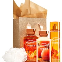 The Daily Trio Gift Kit Sweet Cinnamon Pumpkin
