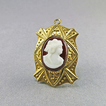 Victorian Antique Locket Pendant Antique Cameo Pendant Picture Locket Antique Jewellery Victorian Jewelry Antiques Collectibles