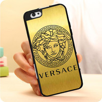 Versace Logo Gold iPhone 7 | 7 Plus Case Dollarscase.com