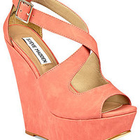 Steve Madden Women's Shoes, External Wedge Sandals - All Women's Shoes - Shoes - Macy's