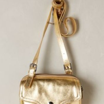 Mika Crossbody Bag by Liebeskind Gold One Size Bags