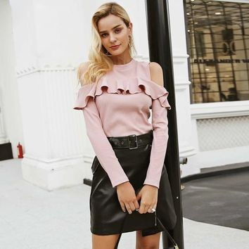 Friend Zone Sweater - Pink