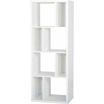 South Shore Reveal Shelving Unit with 8 Compartments, Multiple Colors - Walmart.com