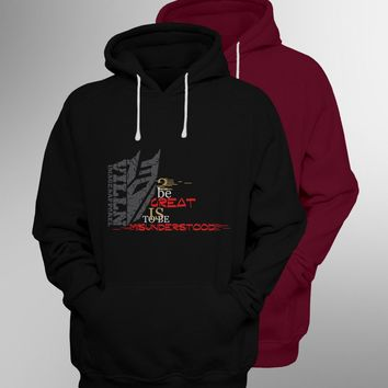 """MISUNDERSTOOD"" Sweaters & Hoodies 2018 Villn Image & Apparel Best Quality"