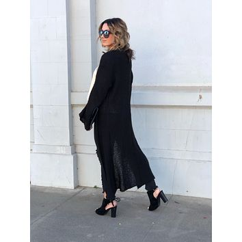 On The Go Sweater Duster