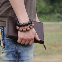 clutch leather handmade leather wallets leather mens clutch man genuine leather clutch