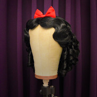 Snow White Wig- Theme Park Style Wig by Fairytale Wigs