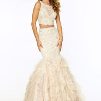 Paparazzi by Mori Lee 97009 Two Piece Prom Dress