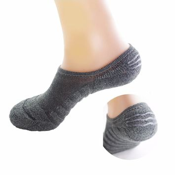 Men Whole Towel Terry Mne's Socks Winter Warm Sock Cotton Male Brief Invisible Slippers Thick Socks Shallow Mouth No Show Socks