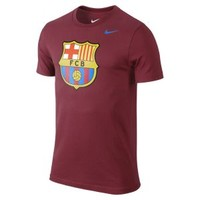 Nike Store. FC Barcelona Core Crest Men's T-Shirt