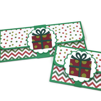 Christmas money holder, Christmas cash envelopes, Christmas gift card holder, holiday gift card holder, Christmas card, Christmas envelope