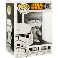 Funko Star Wars Pop! Clone Trooper Vinyl Bobble-Head