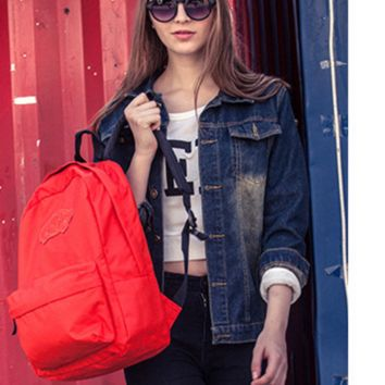 """""""VANS"""" Shoulder bag female classic solid color casual candy simple backpack man"""