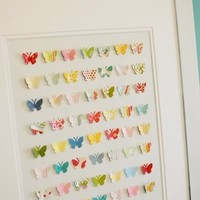 My Style / Butterfly Wall Collage - The Idea Room