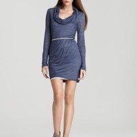 Splendid Heather Jersey Cowlneck Dress - Contemporary - Bloomingdale's