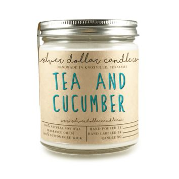 Tea & Cucumber - 8oz Soy Candle