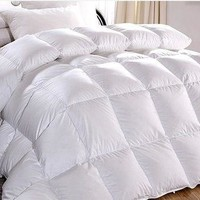 Goose Down Feather Comforter Duvet Quilt  Blanket-3 Sizes