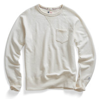 Classic Pocket Sweatshirt in Vintage White