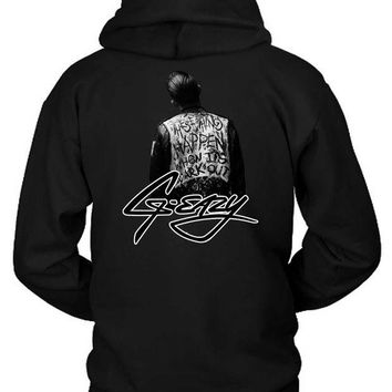 DCCK7H3 G Eazy When Its Dark Out Cover With Logo Hoodie Two Sided