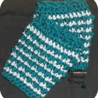 PATTERN: Bubble Boot Cuff